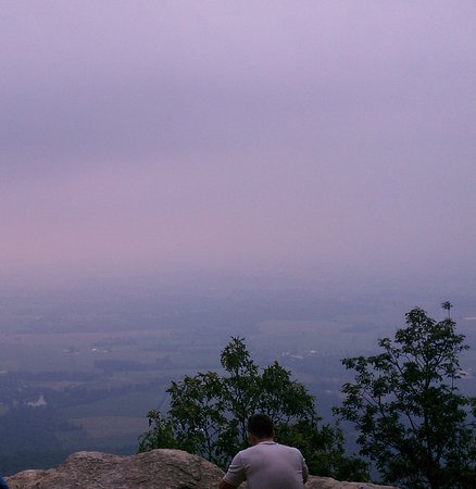 Newville, Pensylwania: Flat Rock vista, Col. Denning State Park, PA