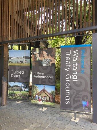 Paihia, New Zealand: Ingresso