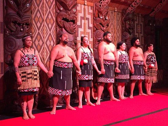 Paihia, New Zealand: Spettacolo