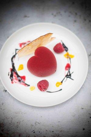 Katowice, Polonia: romantyczny deser