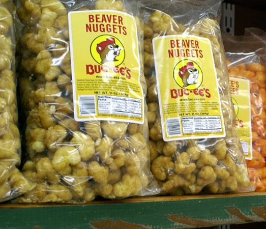 Temple, Teksas: Buckees Beaver Nuggets are A Must grab!!!!