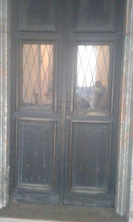 Pavia, Itália: Entrata Cappella Sotto Il Ponte