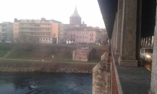 Pavia, Itália: Resti Del Vecchio Ponte
