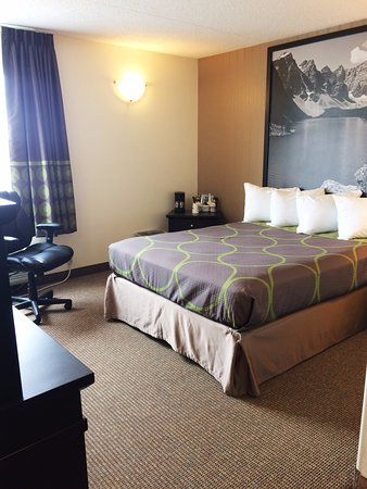 Edson, Canada: Accessible Room - 1 queen