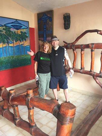 Cabarete, República Dominicana: Our awesome , fun tour guide Kathy!