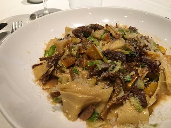 Union Square Cafe: Pappardelle with Duck