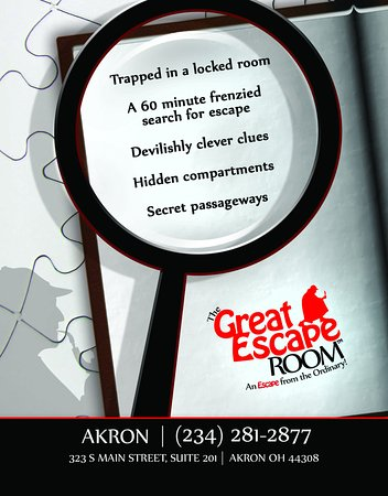 Akron, OH: Will you escape?!