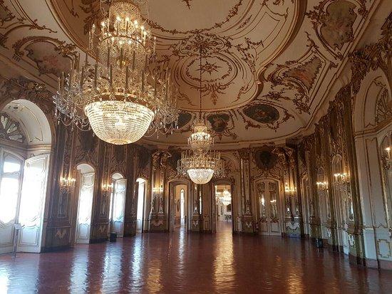 Palácio Nacional de Queluz - distrito de Sintra - Portugal