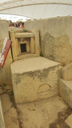 Tarxien, Malta: ancient althar