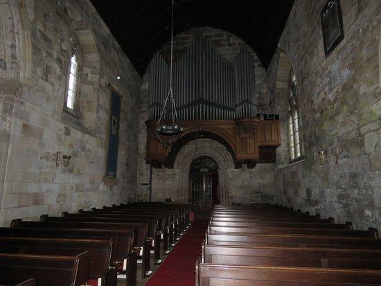 Culross, UK: organ pipes