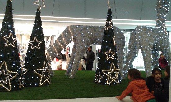 Glòries: Decoración Navidad 2016