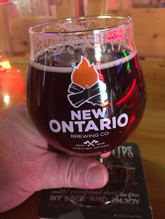 North Bay, Canada: Awsome beer, and wings, every time. And the staff are very kind and Curtious.