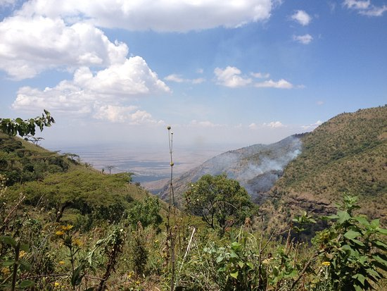 Moroto, Uganda: View from the mountain