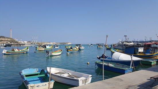 Marsaxlokk, Μάλτα: the bay