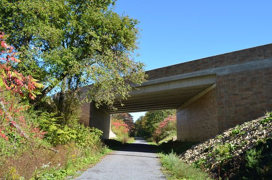 Ghost Town Trail Ebensburg Underpass