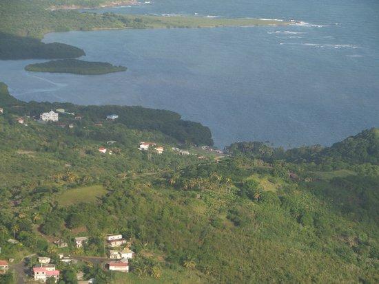 Gros Islet, Sta. Lucía: View