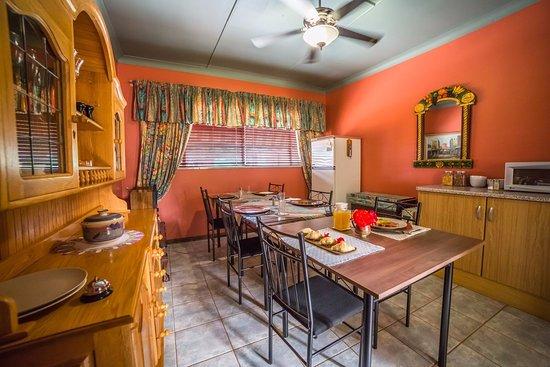 Klerksdorp, Sudáfrica: Dining room