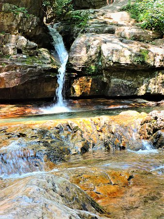 Elizabethton, TN: Blue Hole Falls (swimming area)