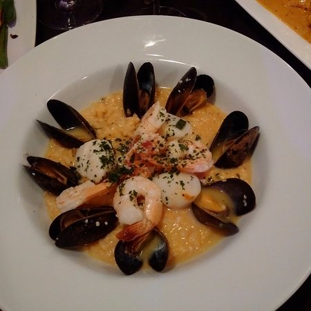 Port Perry, Canada: Seafood risotto