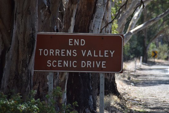 Tea Tree Gully, Australia: End of drive sign