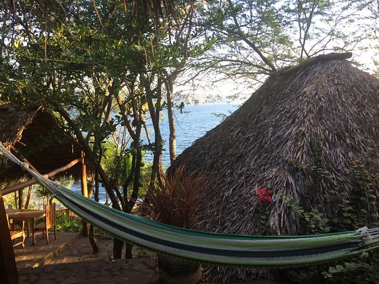 San Simian Eco Lodge: view from one of the lodges