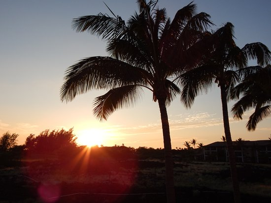 Waikoloa, HI: early morning on the course