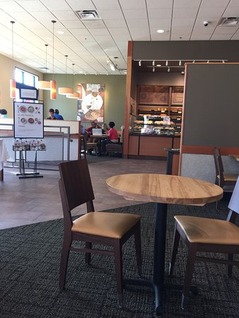 Panera Bread Downtown Location Free Parking Behind The Building Very Nice Clean