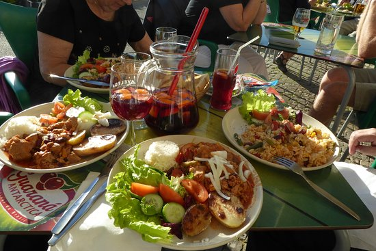 INATEL Albufeira : Great food at the Lemon Tree Cafe