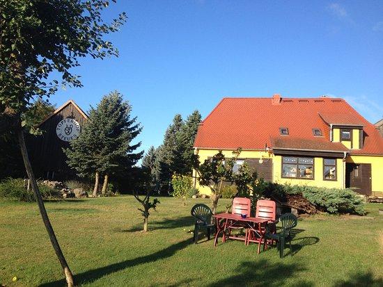 Kratzeburg, Allemagne : Blick auf das Wohnhaus