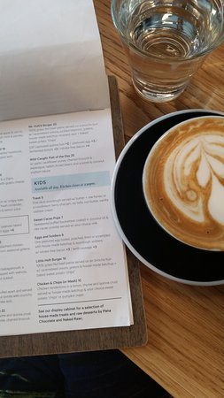 Marrickville, Australia: Coffe and Kids menu Warren and Holt Cafe