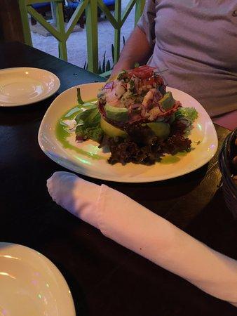 Playa Ocotal, Costa Rica: Ceviche