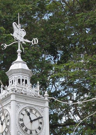 Victorian clock tower