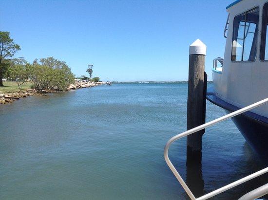 Yamba, Australia: Iluka wharf