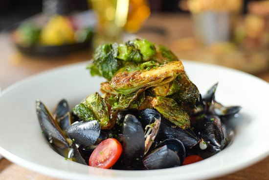Pickering, Canada: Mussels