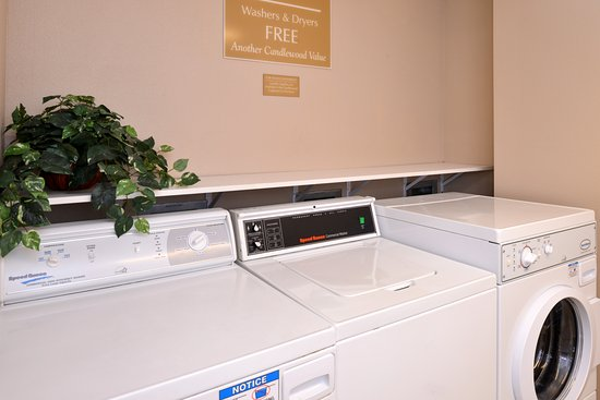 Candlewood Suites Boise : Complimentary Guest Laundry