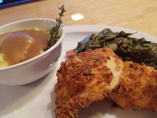 Buchanan, VA: Buttermilk Fried Chicken, Collard Greens, Mashed Potatoes