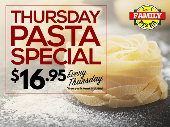 North Battleford, Kanada: Pasta Thursday