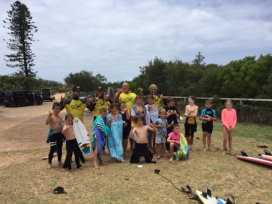 Varonil, Australia: Group photo at the end of the week my boys did in December.