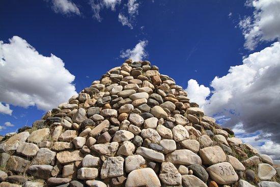 Las casas de Sibayo están construidas en su mayoría de Piedra.