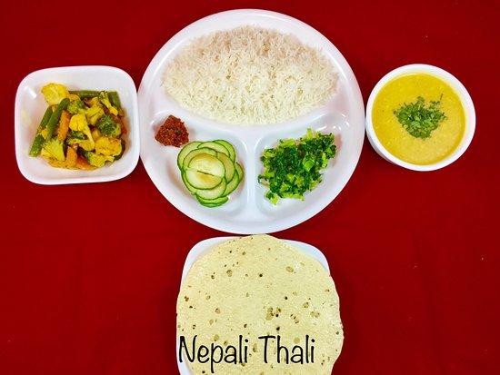 Amherst, MA: Nepali Thali (Vegan)