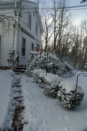 Westfield, NY: Winter at Portage Hill Art Gallery- open Sat and by chance/appt