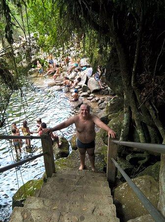 Itatiaia, RJ: Escada de acesso.