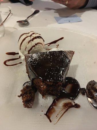 Mediterraneo Restaurant: Chocolate dessert