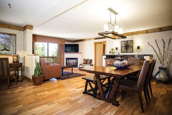 Fish Camp, Kalifornia: Luxury Suite Living Room