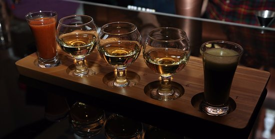 Tequila Flights, Blu Toro Cantina & Grill, West Des Moines, Iowa