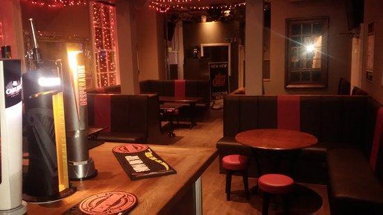 Goole, UK: Bar in the evening
