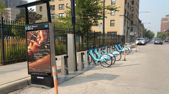 Divvy Station Map on