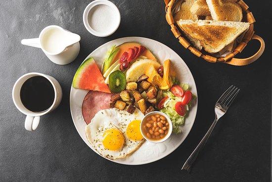 B&B 4 Saisons: Déjeuner : L'assiette Québécoise
