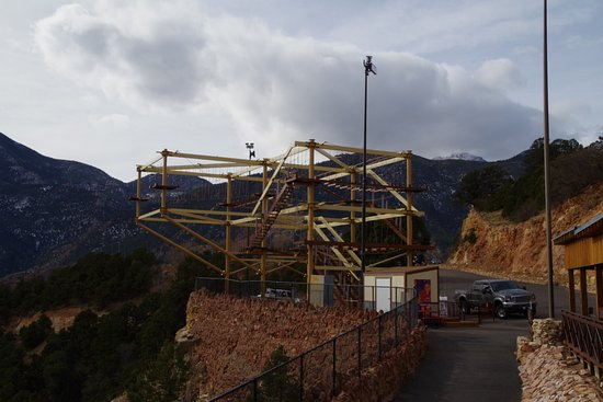 Manitou Springs, CO : Not sure what this is near the entrance