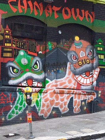 Chinese Culture Center: Mural